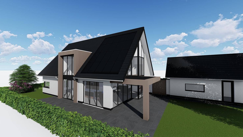 3D impressie nieuwbouw Laarveld Weert Steven Palmen Teken en Adviesbureau