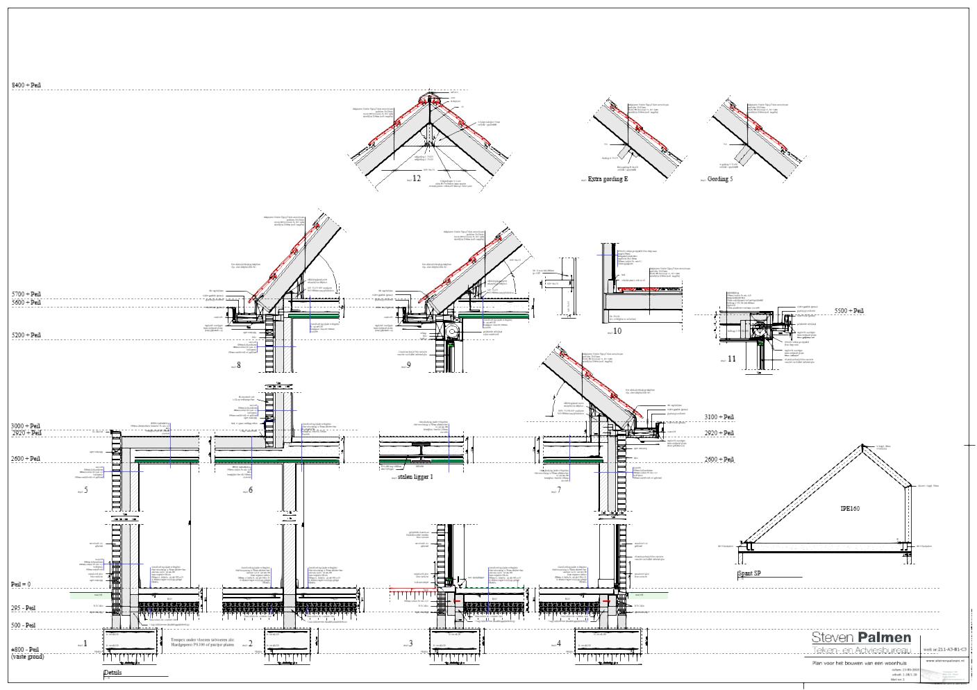 Steven Palmen Architect Bouwkundig teken en Adviesbureau